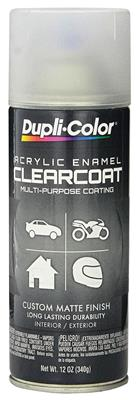 Trunk Spatter Paint (Aerosol Can) Clear Coat, 12-oz.