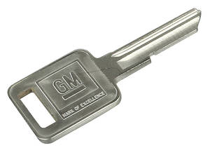 1970-1970 Cutlass Key Blank Square (J)