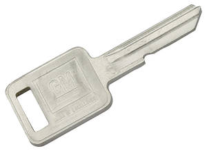 1967 Bonneville Key Blank Square - A