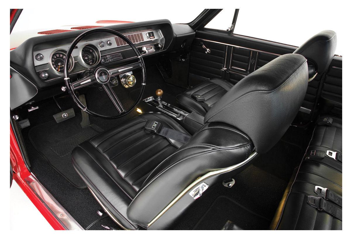 1969 Interior Kits Cutlass Coupe Stage Iii Buckets 4 4 2