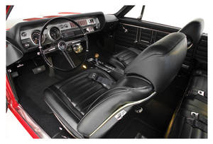 1967 Interior Kits, Cutlass Coupe Stage III, Bench Holiday