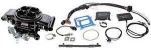 1978-88 El Camino Quick Fuel Injection Base Kit Black Diamond