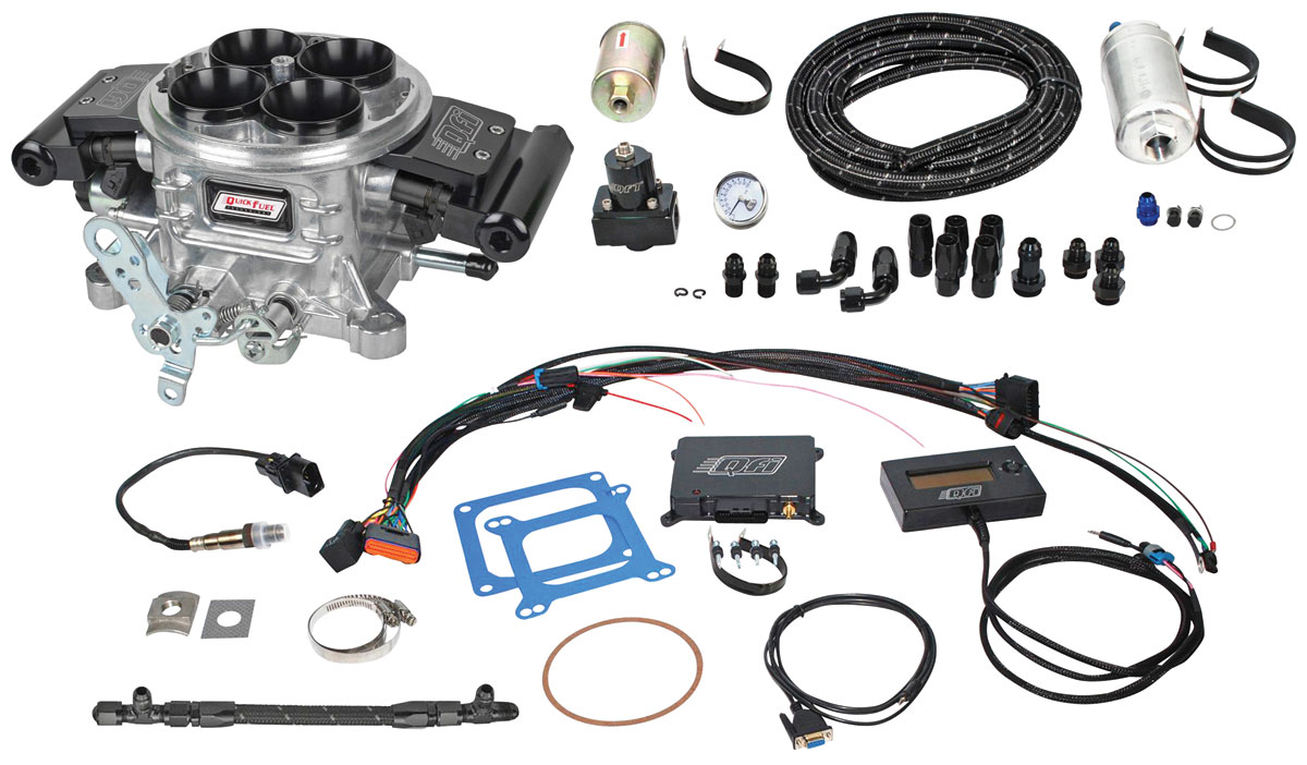 Photo of Quick Fuel Injection Master Kit polished