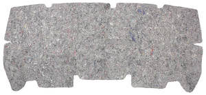 1973-1977 Chevelle Trunk Divider Board Jute Insulation Coupe