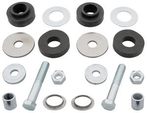 1965-67 Cutlass Radiator Support Bushings Reproduction-Style w/Hardware