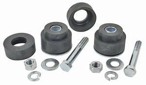 1970-72 Monte Carlo Radiator Support Body Bushing Set with Hardware, by RESTOPARTS