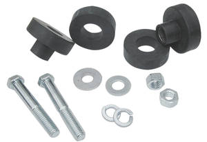 1968-1972 GTO Radiator Support Bushings w/Hardware, by RESTOPARTS