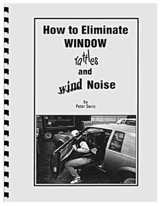 Book, How To Eliminate Window Rattles and Wind Noise