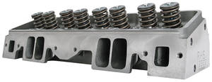 """1978-88 El Camino Cylinder Heads, Small Block, RHS 235cc - 2.08""""/1.60"""" In/Exh Valve Hyd. Roller, 64cc, Angled Plug"""