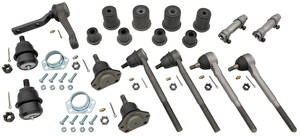 "1966-1967 Chevelle Front End Rebuild Kits, Standard 13/16"" Center Link (1.65"" Lower)"