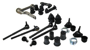 1968-1970 Skylark Front End Rebuild Kit, Standard Oval Bushings