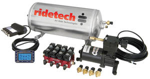 1964-1973 GTO Air Suspension System, RidePro Digital, by RideTech