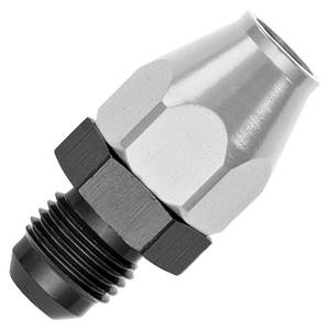 """Fuel Line Adapters, Russell Aluminum -6 AN to 3/8"""", male"""