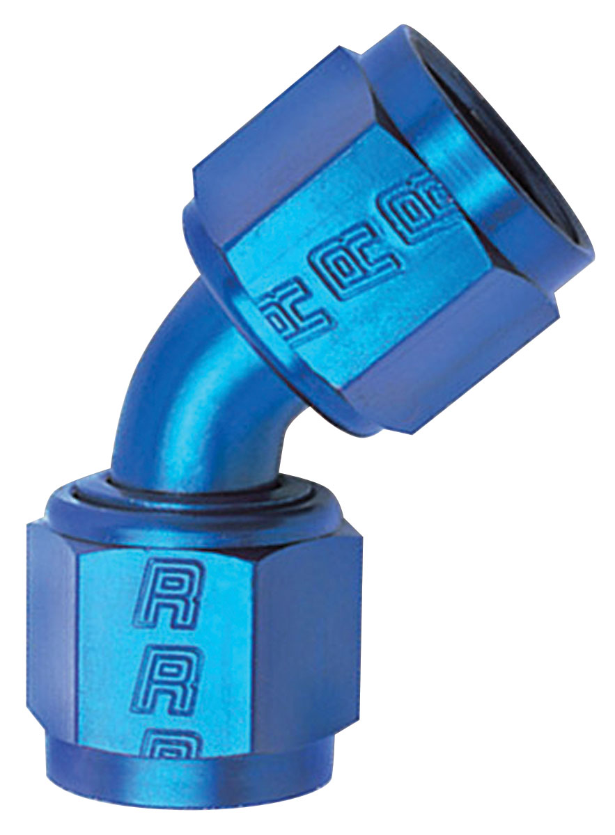Photo of Adapter Fittings, Russell 45° Swivel Coupler -8 AN