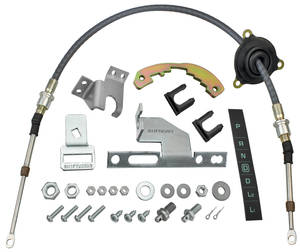 1964-65 El Camino Shifter Conversion, Powerglide 2004-R/700r-4