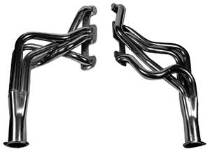 1968-1972 Skylark Headers, Super Competition Black, by Hooker