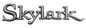 1968-1972 Skylark Trunk Emblem, 1968-72 Skylark