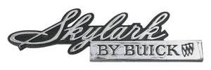 1971-1971 Skylark Grille Emblem, 1971 Skylark By Buick