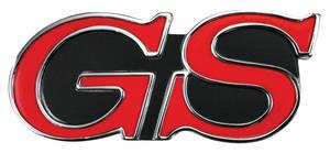 """Skylark Grille Emblem, 1967 & 1969 """"GS"""""""