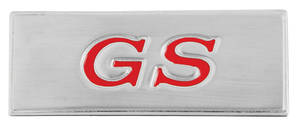 "Skylark Door Panel Emblem, 1969 ""GS"""