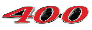 "1969-1969 Skylark Hood Emblem, 1969 GS ""400"""
