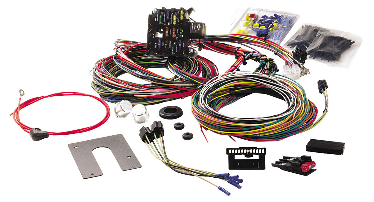 Enjoyable Painless Performance Wiring Harness 21 Circuit Classic Non Gm Keyed Wiring 101 Photwellnesstrialsorg