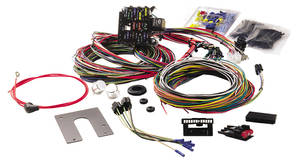 1962-1968 Grand Prix Wiring Harness 21-Circuit Classic Non-GM Keyed Dash Ignition, by Painless Performance