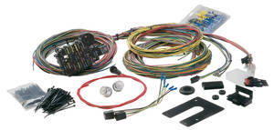 1969-72 El Camino Wiring Harness 28-Circuit Classic Plus GM Keyed Column w/Signal