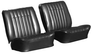 Skylark Seat Upholstery, 1964 Reproduction Buckets w/Hardtop Rear