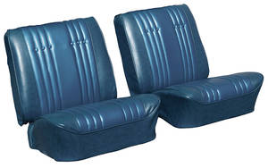 1965-1965 Skylark Seat Upholstery, 1965 Reproduction Split Bench (W/O Armrest) w/Convertible Rear