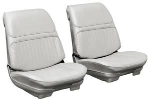 Seat Upholstery, 1968 Skylark Custom/GS 350/GS 400 Split Bench (W/Armrest) w/Hardtop Rear