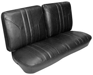Seat Upholstery, 1969 Skylark/GS 350 Split Bench (W/O Armrest), by PUI