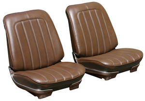 Seat Upholstery, 1970 Skylark 350/Custom/GS/455 Rear Seat Convertible, by PUI