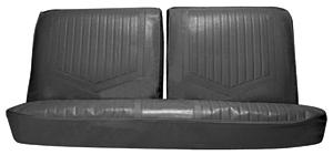 1971-1972 Skylark Seat Upholstery, 1971-72 Skylark/GS Standard Split Bench (W/O Armrest), by PUI