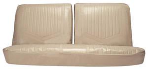 1971-1972 Skylark Seat Upholstery, 1971-72 Skylark/GS Standard Rear Seat Sedan, by PUI