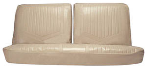 Seat Upholstery, 1971-72 Skylark/GS Standard Split Bench (W/O Armrest) w/Sedan Rear