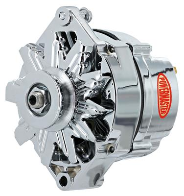 Alternator, Performance - 10dn (70-Amp, External Regulator) with Chrome Finish