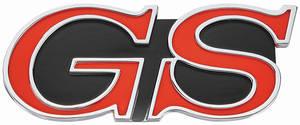 """1968-1968 Skylark Grille Emblem, 1968 """"GS"""""""