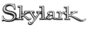 1968-1972 Skylark Quarter Panel Emblem, 1968-72 Skylark