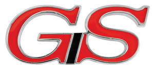 "1971-1972 Riviera Fender Emblem, 1971-72 ""GS"""
