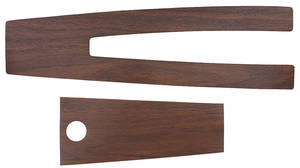 1970-1972 Skylark Console Inserts, 1970-72 Wood Grain