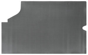 1968-72 Skylark Trunk Mat, Rubber Gray & Black