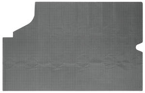 1968-72 Skylark Trunk Mat, Vinyl Gray & Black