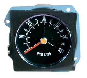 1970-72 Skylark Tachometer, In Dash Flat Lens (Late '70)