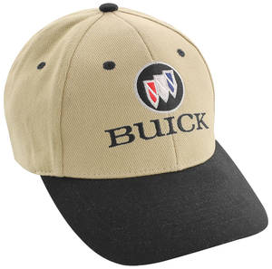 1963-1976 Riviera Buick Logo Hat Black/Tan, by Hot Rods Plus