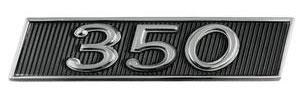 1968-1968 Skylark Fender Emblem, 1968 350