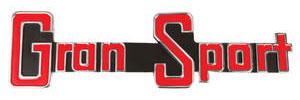 1965-1965 Skylark Grille Emblem, 1965 Gran Sport