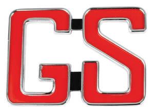 Skylark Quarter Panel Emblem, 1966 GS (3-Post)