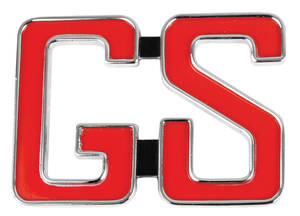 Skylark Quarter Panel Emblem, 1966 GS (3-Post)