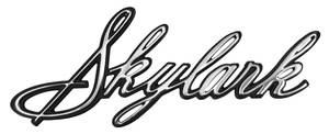 1967-1967 Skylark Quarter Panel Emblem, 1967 Skylark